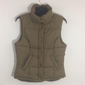 H & M Puffer Vest Label of Graded Goods